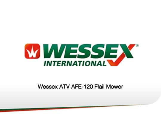 Afe 120 - professional groundcare & agricultural equipment