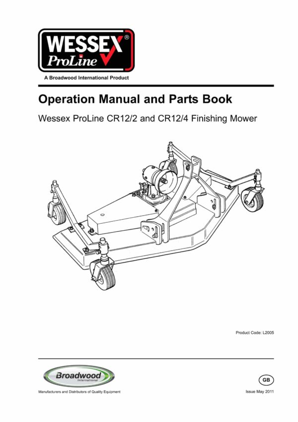 Cr 12 wessex proline finishing mowers l2005 page 01 scaled - professional groundcare & agricultural equipment