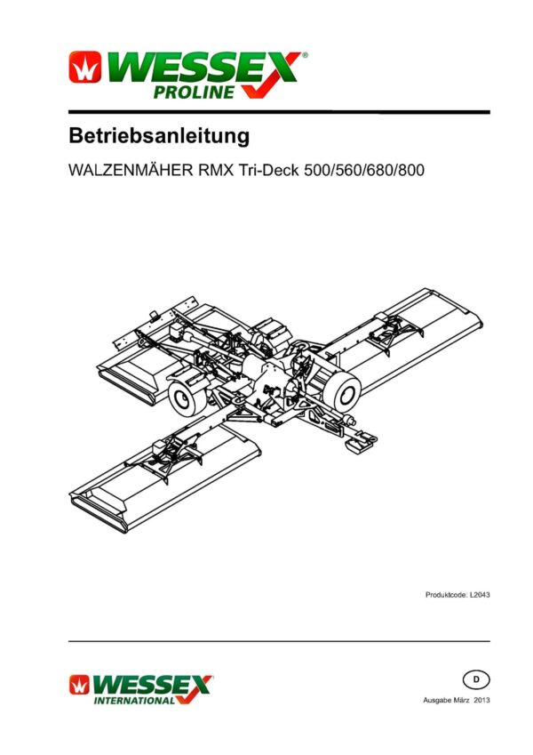 L2043 rmx tri deck roller mowers german page 01 scaled - professional groundcare & agricultural equipment