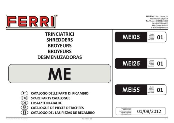 Me 125 155 page 01 - professional groundcare & agricultural equipment
