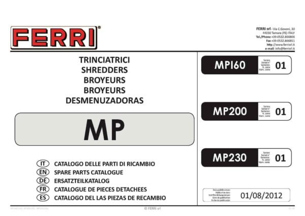 Mp page 01 - professional groundcare & agricultural equipment