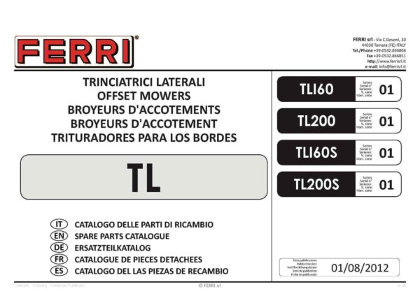 Tl 160 200 flail page 01 - professional groundcare & agricultural equipment