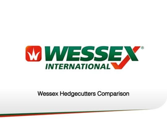 Wessex hedgecutters comparison - professional groundcare & agricultural equipment
